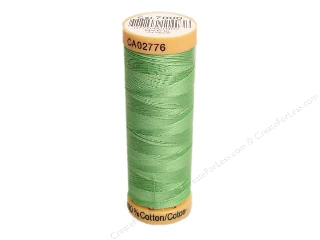 Gutermann 100% Natural Cotton Sewing Thread 109 yd. #7880 Kiwi