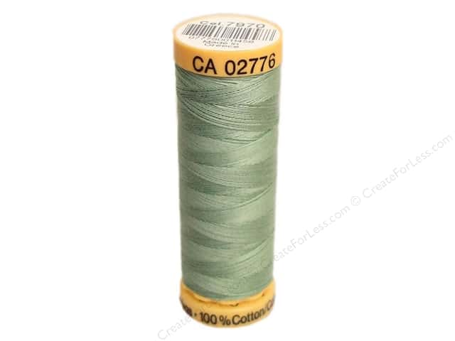 Gutermann 100% Natural Cotton Sewing Thread 109 yd. #7970 Light Moss Green