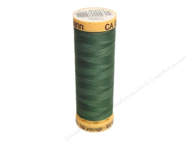 Gutermann 100% Natural Cotton Sewing Thread 109 yd. #8050 Ivy Green