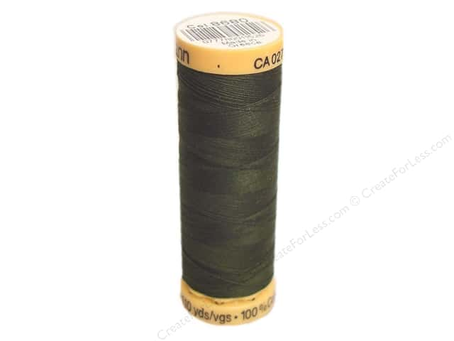 Gutermann 100% Natural Cotton Sewing Thread 109 yd. #8680 Dark Spruce
