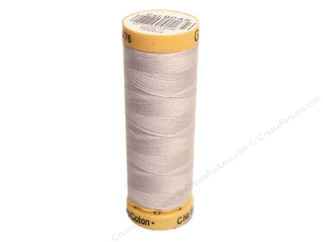Gutermann 100% Natural Cotton Sewing Thread 109 yd. #9045 Light Nickel
