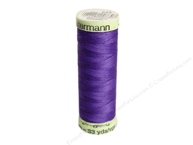 Gutermann Top Stitch Heavy Duty Thread 33 yd. #945 Purple