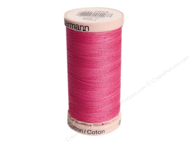 Gutermann Hand Quilting Thread 220 yd. #2955 Hot Pink