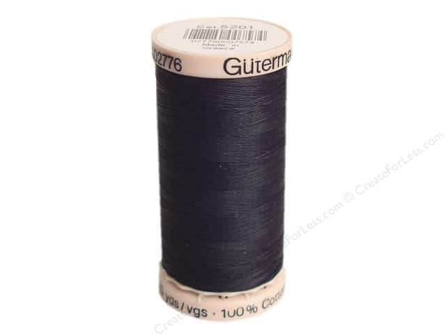 Gutermann Hand Quilting Thread 220 yd. #5201 Black