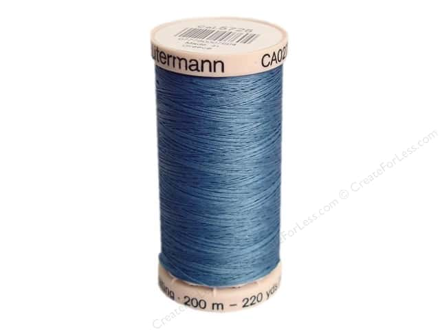Gutermann Hand Quilting Thread 220 yd. #5725 Light Blue