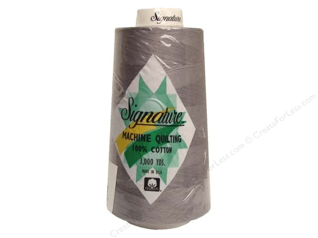Signature 100% Cotton Thread 3000 yd. #026 Oyster Shell