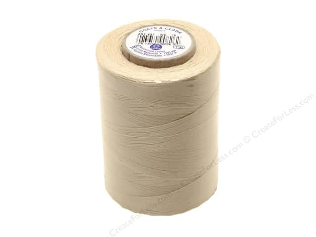 Coats Cotton Machine Quilting Thread 1200 yd. #16 Ecru