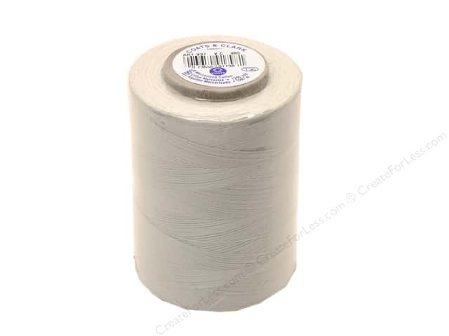 Coats Cotton Machine Quilting Thread 1200 yd. #480 Silver