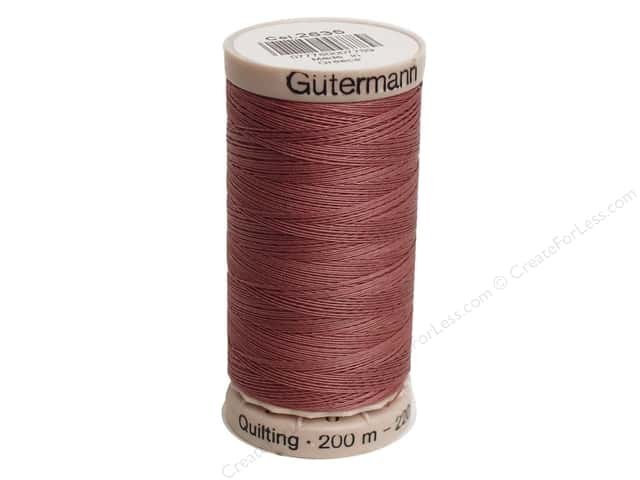 Gutermann Hand Quilting Thread 220 yd. #2635 Dark Rose