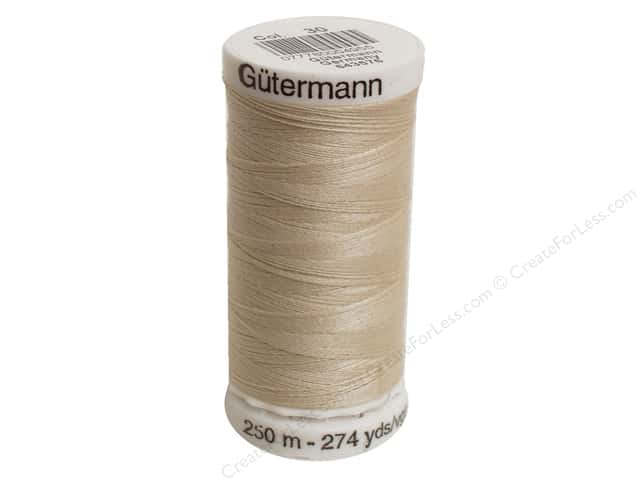 Gutermann Sew-All Thread 273 yd. #030 Bone
