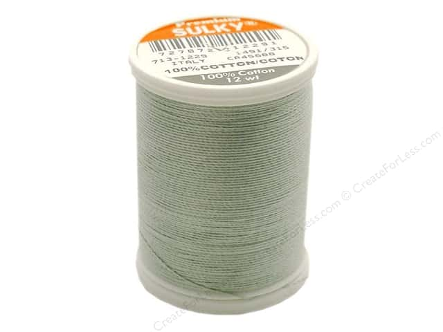 Sulky Cotton Thread 12 wt. 330 yd. #1229 Light Putty