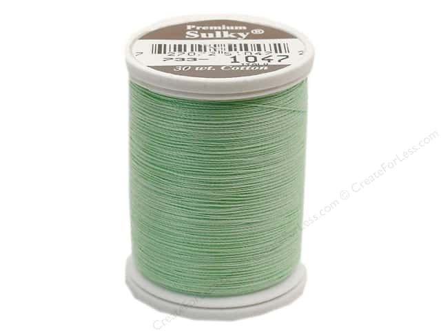 Sulky Cotton Thread 30 wt. 500 yd. #1047 Mint Green