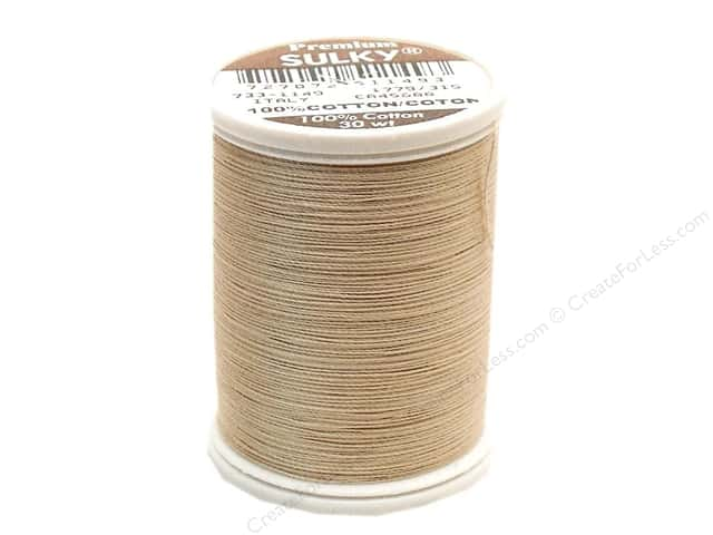 Sulky Cotton Thread 30 wt. 500 yd. #1149 Deep Ecru
