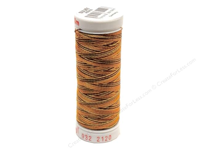 Sulky Rayon Thread 30 wt. 180 yd. #2120 Dark Browns