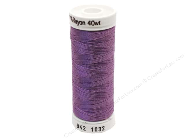 Sulky Rayon Thread 40 wt. 250 yd. #1032 Medium Purple