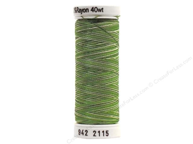 Sulky Rayon Thread 40 wt. 250 yd. #2115 Pine Greens