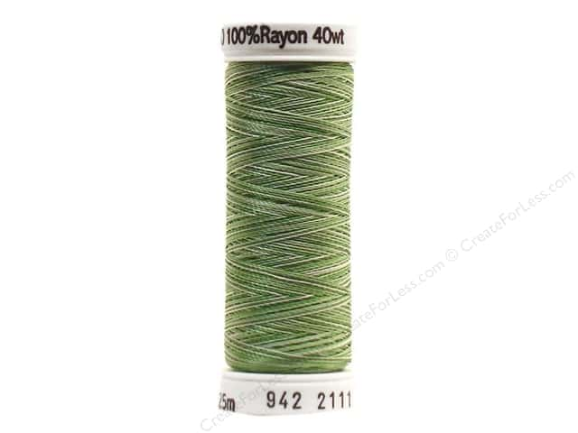 Sulky Rayon Thread 40 wt. 250 yd. #2111 Grass Greens