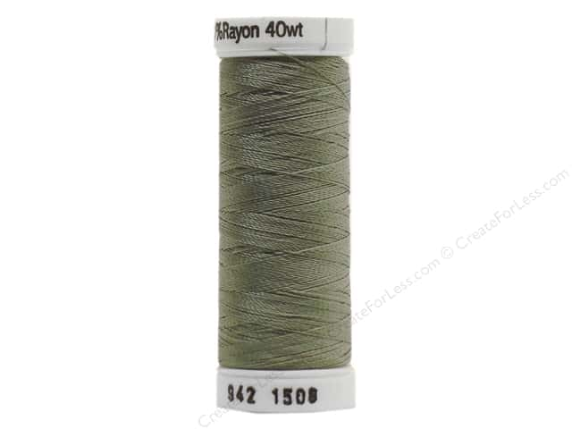 Sulky Rayon Thread 40 wt. 250 yd. #1508 Putty