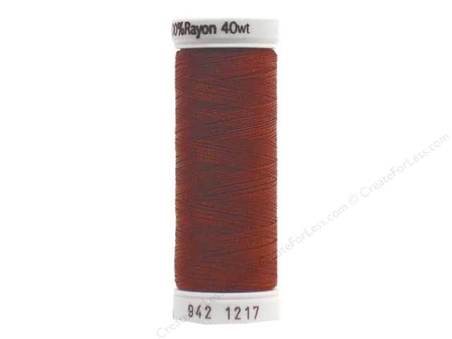 Sulky Rayon Thread 40 wt. 250 yd. #1217 Chestnut
