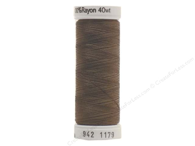 Sulky Rayon Thread 40 wt. 250 yd. #1179 Dark Taupe
