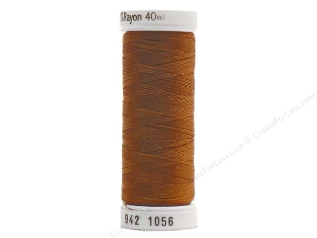 Sulky Rayon Thread 40 wt. 250 yd. #1056 Medium Tawny Tan