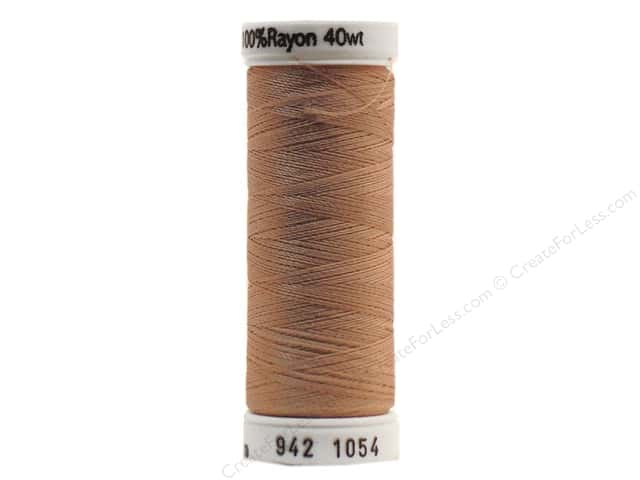 Sulky Rayon Thread 40 wt. 250 yd. #1054 Medium Dark Ecru