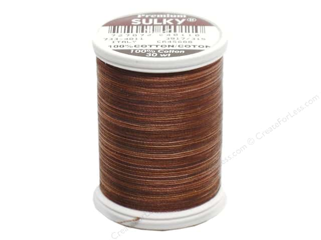 Sulky Blendables Cotton Thread 30 wt. 500 yd. #4011 Milk Chocolate