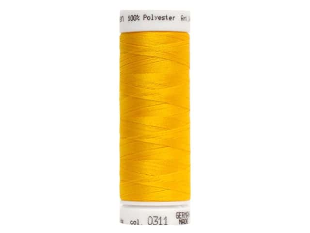 Mettler PolySheen Embroidery Thread 220 yd. #0311 Canary