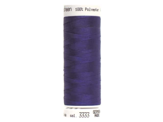 Mettler PolySheen Embroidery Thread 220 yd. #3333 Fire Blue