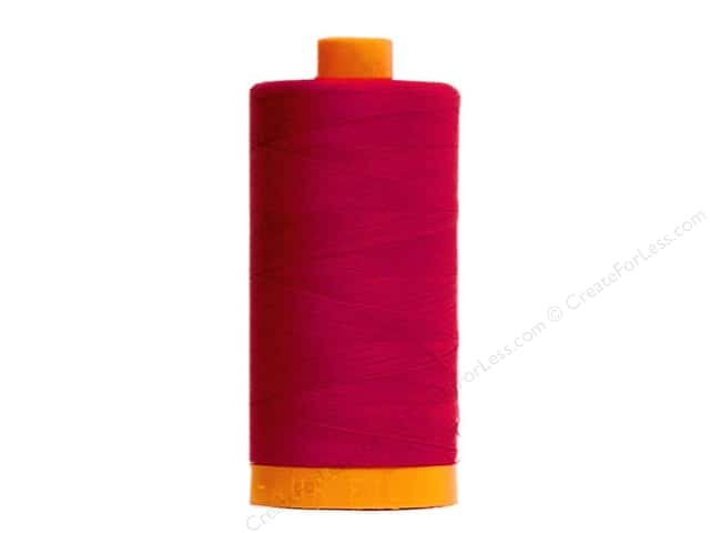 Aurifil Mako Cotton Quilting Thread 50 wt. #2260 Wine 1420 yd.