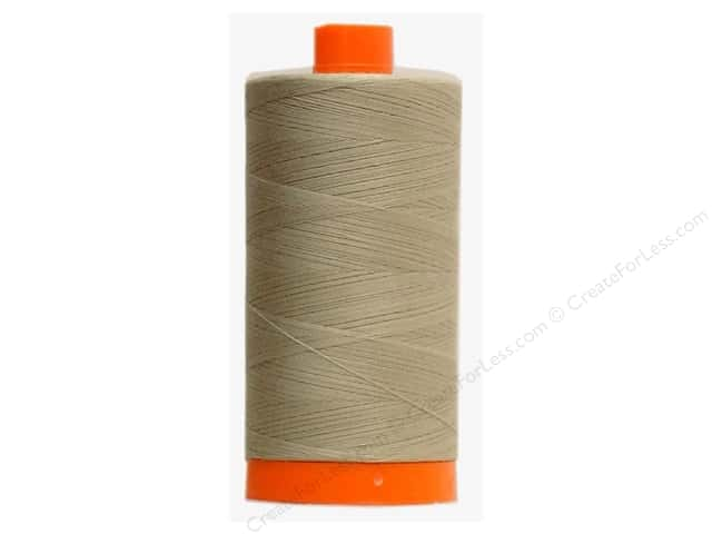 Aurifil Mako Cotton Quilting Thread 50 wt. #2324 Stone 1420 yd.