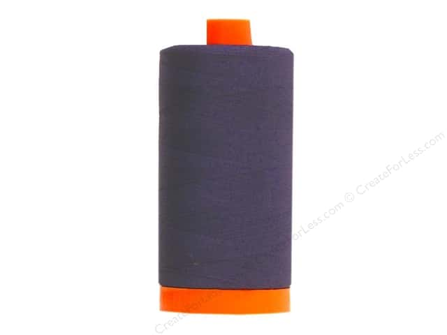 Aurifil Mako Cotton Quilting Thread 50 wt. #2785 Very Dark Navy 1420 yd.