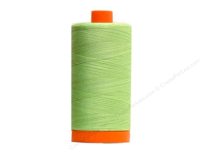 Aurifil Mako Cotton Quilting Thread 50 wt. #3320 Variegated Spring Green 1420 yd.