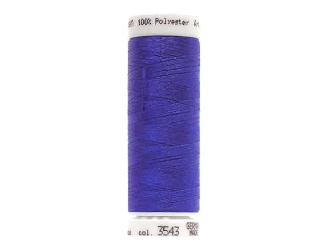Mettler PolySheen Embroidery Thread 220 yd. #3543 Royal Blue