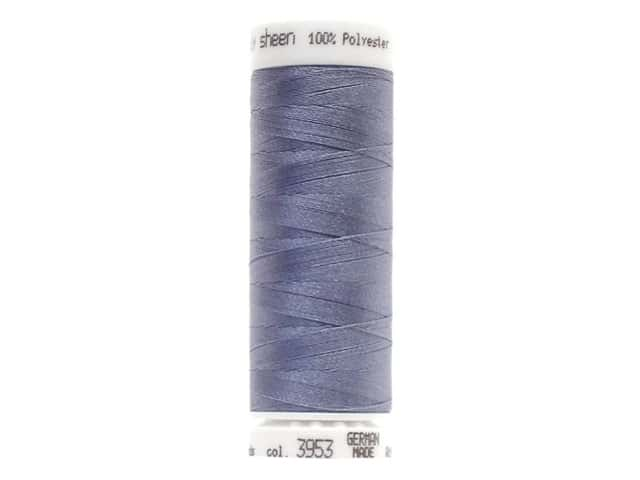 Mettler PolySheen Embroidery Thread 220 yd. #3953 Ocean Blue