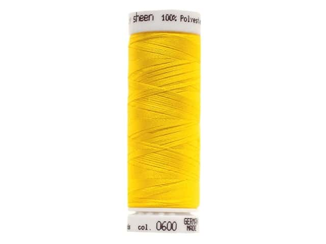 Mettler PolySheen Embroidery Thread 220 yd. #0600 Citrus