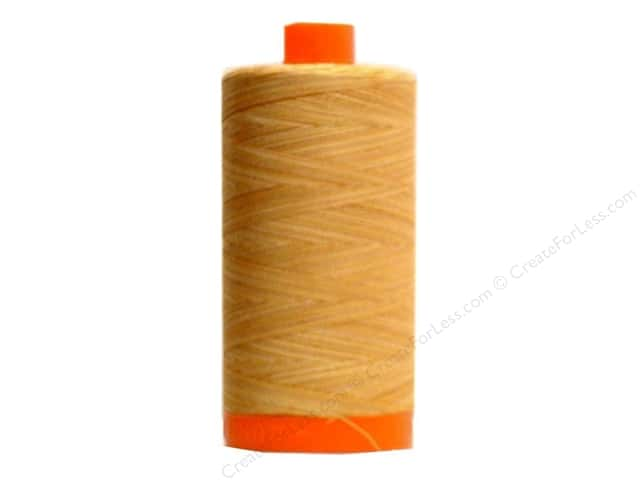 Aurifil Mako Cotton Quilting Thread 50 wt. #4150 Variegated Golds 1420 yd.