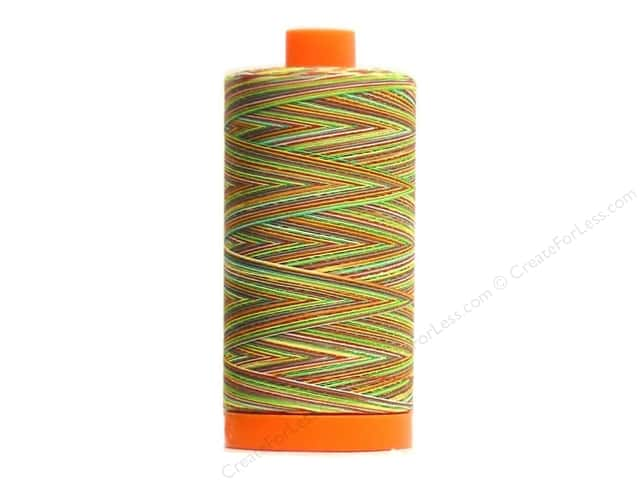 Aurifil Mako Cotton Quilting Thread 50 wt. #4650 Variegated Chili Pepper 1420 yd.