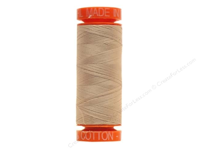 Aurifil Mako Cotton Quilting Thread 50 wt. #2314 Medium Beige 220 yd.