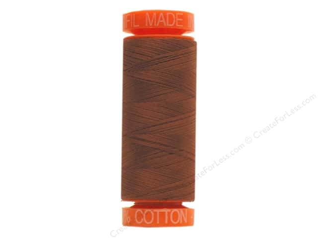Aurifil Mako Cotton Quilting Thread 50 wt. #4012 Nutmeg 220 yd.