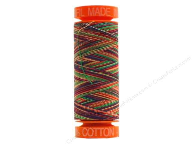 Aurifil Mako Cotton Quilting Thread 50 wt. #3817 Vari Crayons 220 yd.