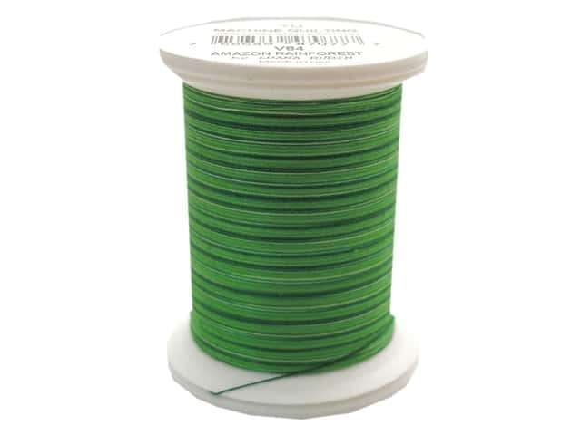YLI Machine Quilting Thread 500 yd. #V84 Amazon Rainforest