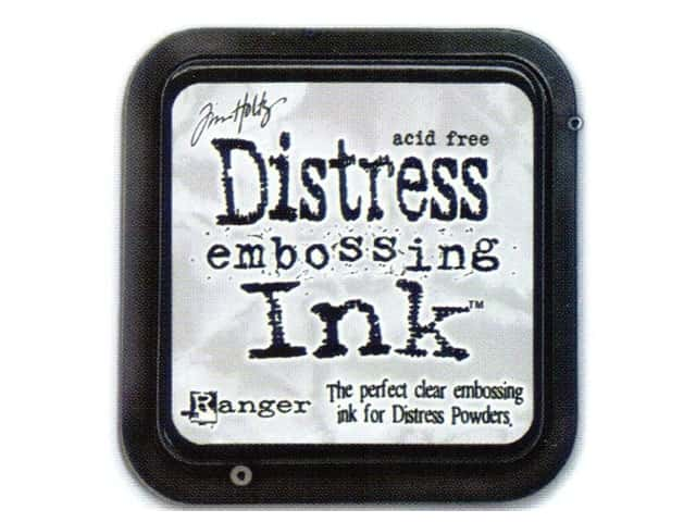 Tim Holtz Distress Ink Pad by Ranger Clear Embossing
