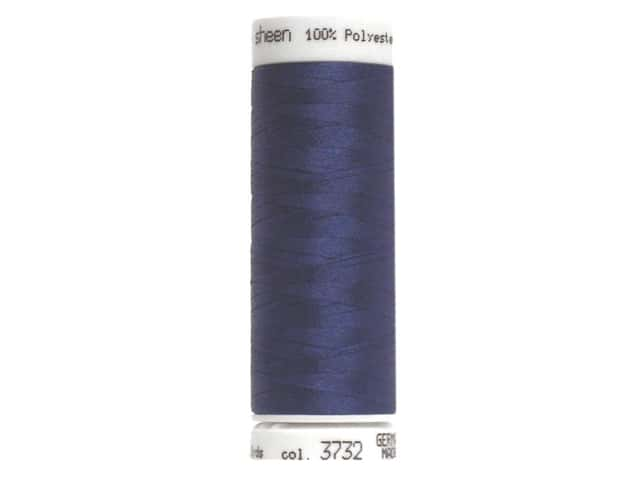 Mettler PolySheen Embroidery Thread 220 yd. #3732 Slate Blue