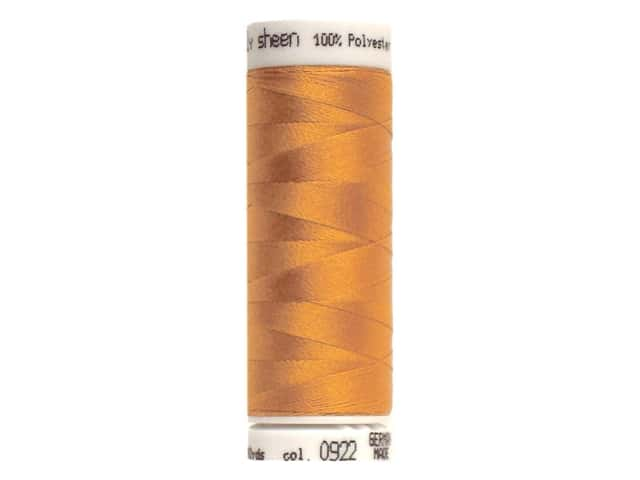 Mettler PolySheen Embroidery Thread 220 yd. #0922 Ashley Gold