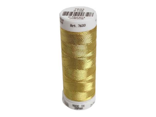 Mettler Metallic Thread 40 wt. 110 yd. #2108 Inka Gold