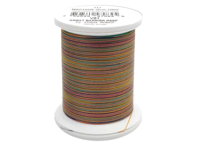 YLI Machine Quilting Thread 500 yd. #V91 Great Barrier Reef