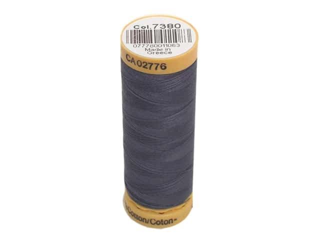Gutermann 100% Natural Cotton Sewing Thread 109 yd. #7380 Cosmos Blue