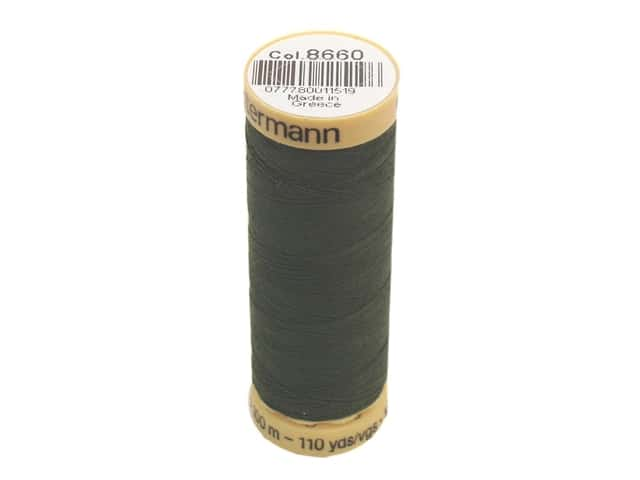 Gutermann 100% Natural Cotton Sewing Thread 109 yd. #8660 Spruce