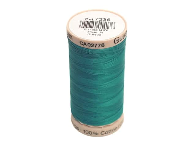 Gutermann Hand Quilting Thread 220 yd. #7235 Peacock Teal